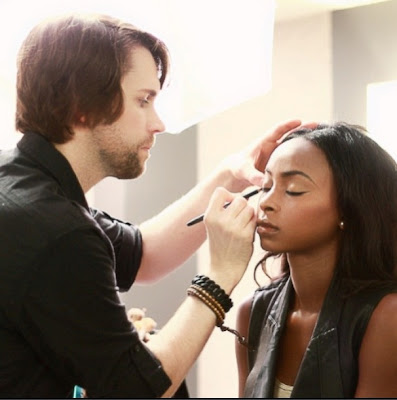 Norman Sands, makeup artist, beauty interview, First Look Fridays