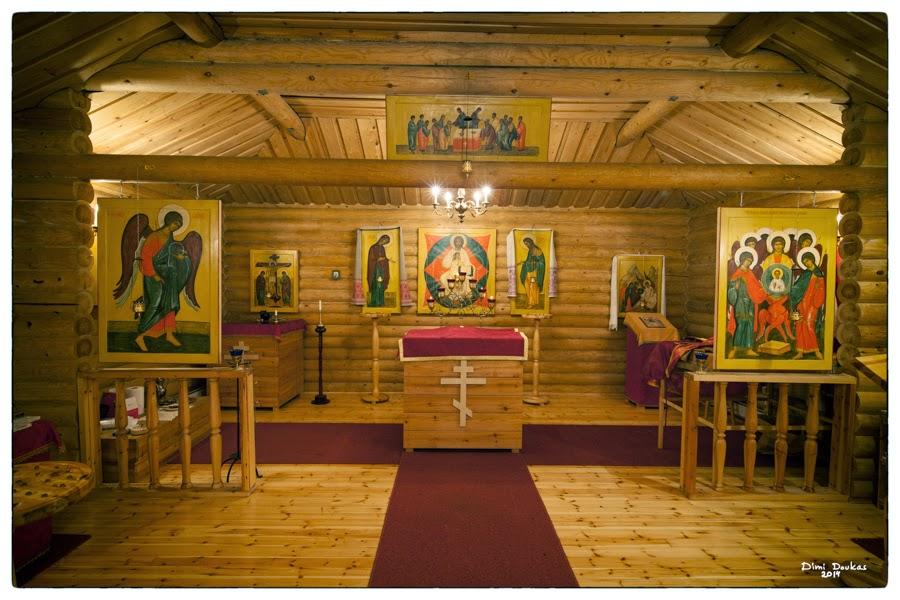 Suomen ortodoksiset tsasouna kirja - Suolahden tsasounan kaunistamista sisältä