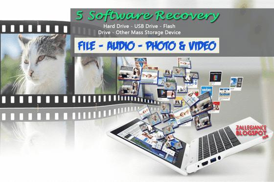 Download Software Recovery PC, Komputer dan Laptop, Software terbaik untuk mengembalikan semua jenis file yang hilang