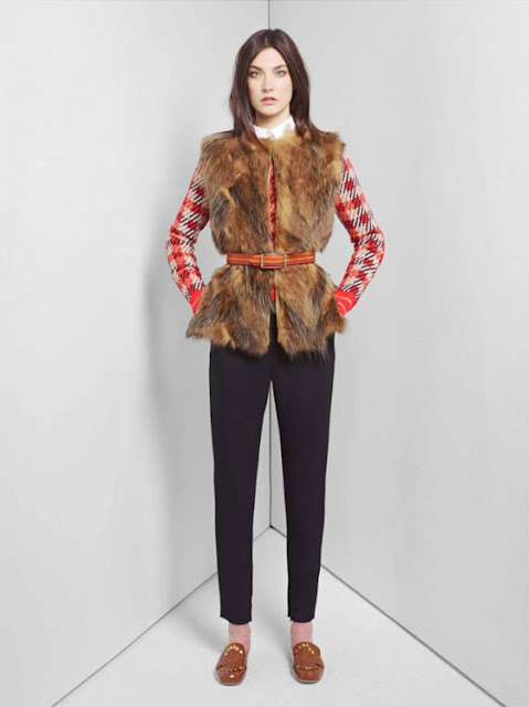 Меховые Жилеты Мода 2012