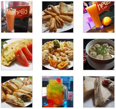 Tempat Karaoke Hello fktv - Menu Makan dan Minuman