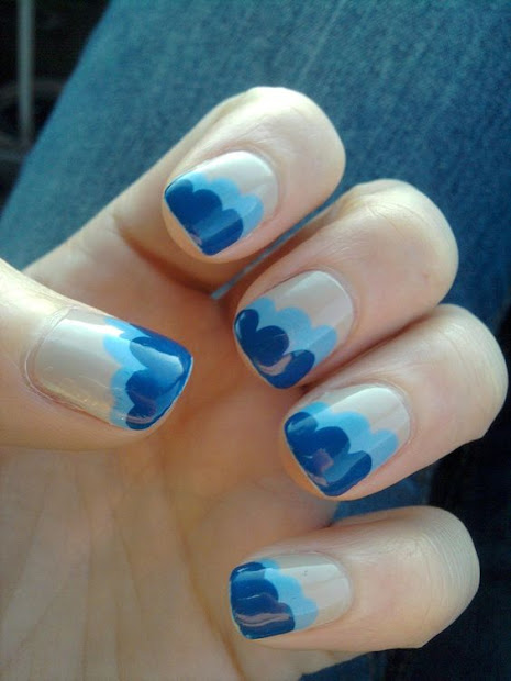 fresh nail art ideas - omg love