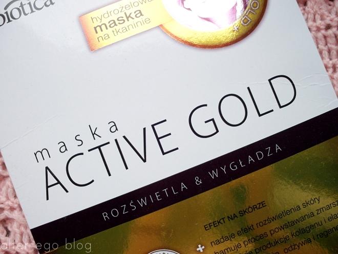 Luksusowo | L'biotica, maska Active Gold