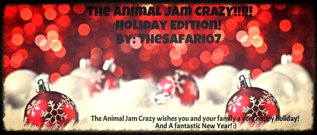 THE ANIMAL JAM CRAZY!