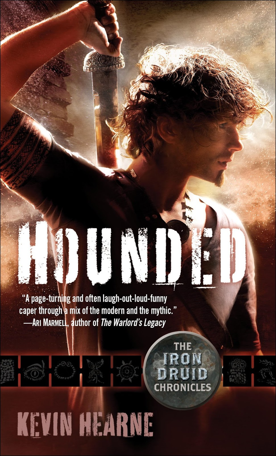 'hounded' The Iron Druid Chronicles #1 By Kevin Hearne