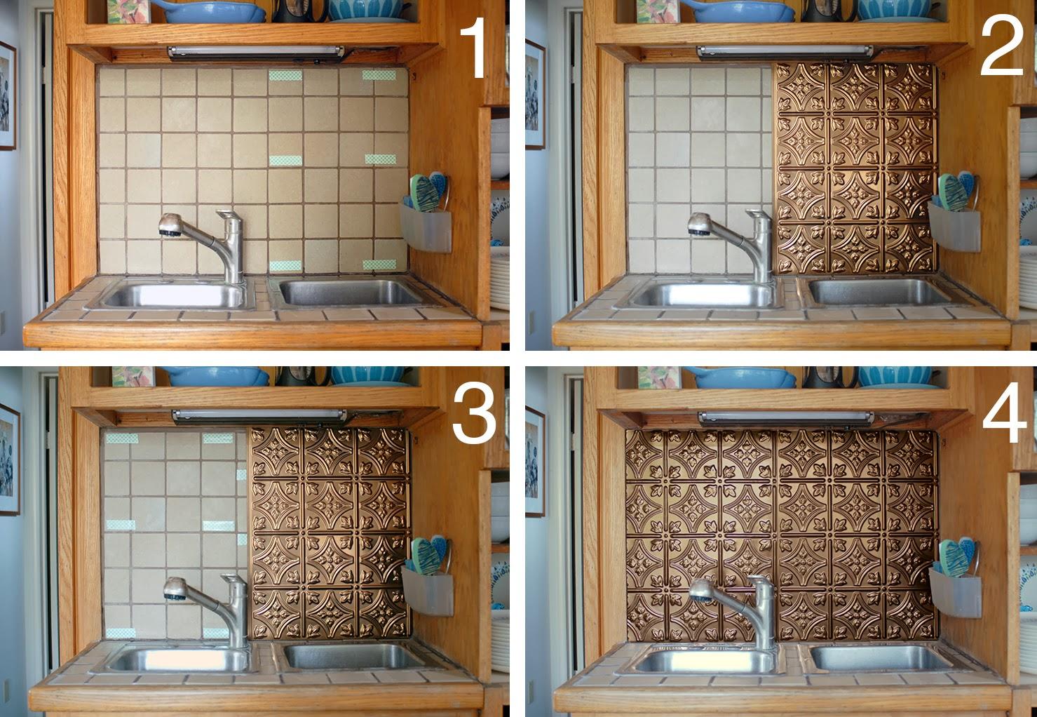 Inexpensive Backsplash Ideas kitchen backsplash