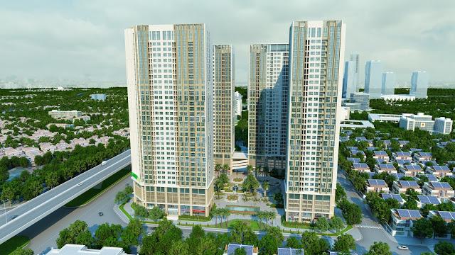Dự án Eco Green City sử dụng công nghệ tấm  tường Acotec