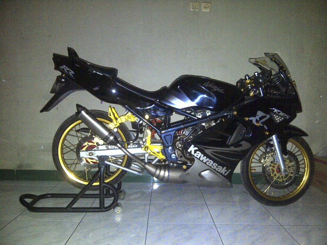 Motor kawasaki modifikasi