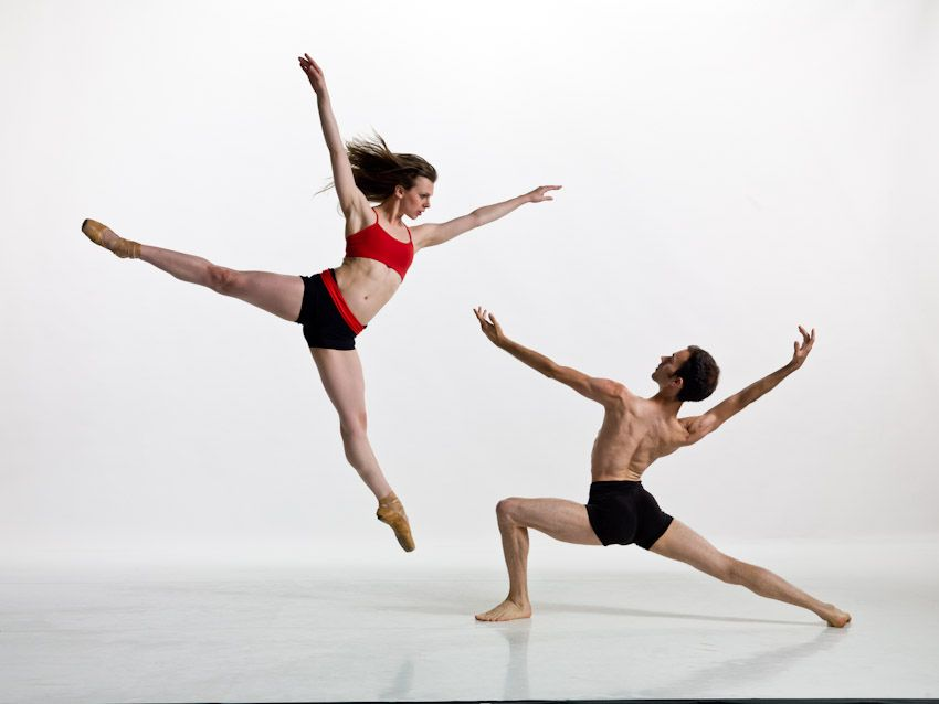 7. Man and Woman Ballet Dance