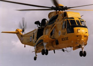 Sea King HAR Helicopter