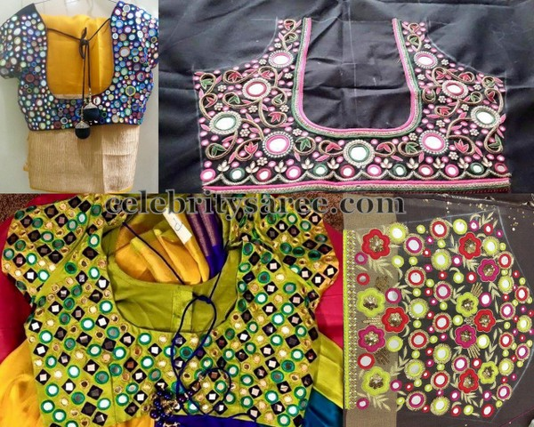 Mirror Work Blouse Collection