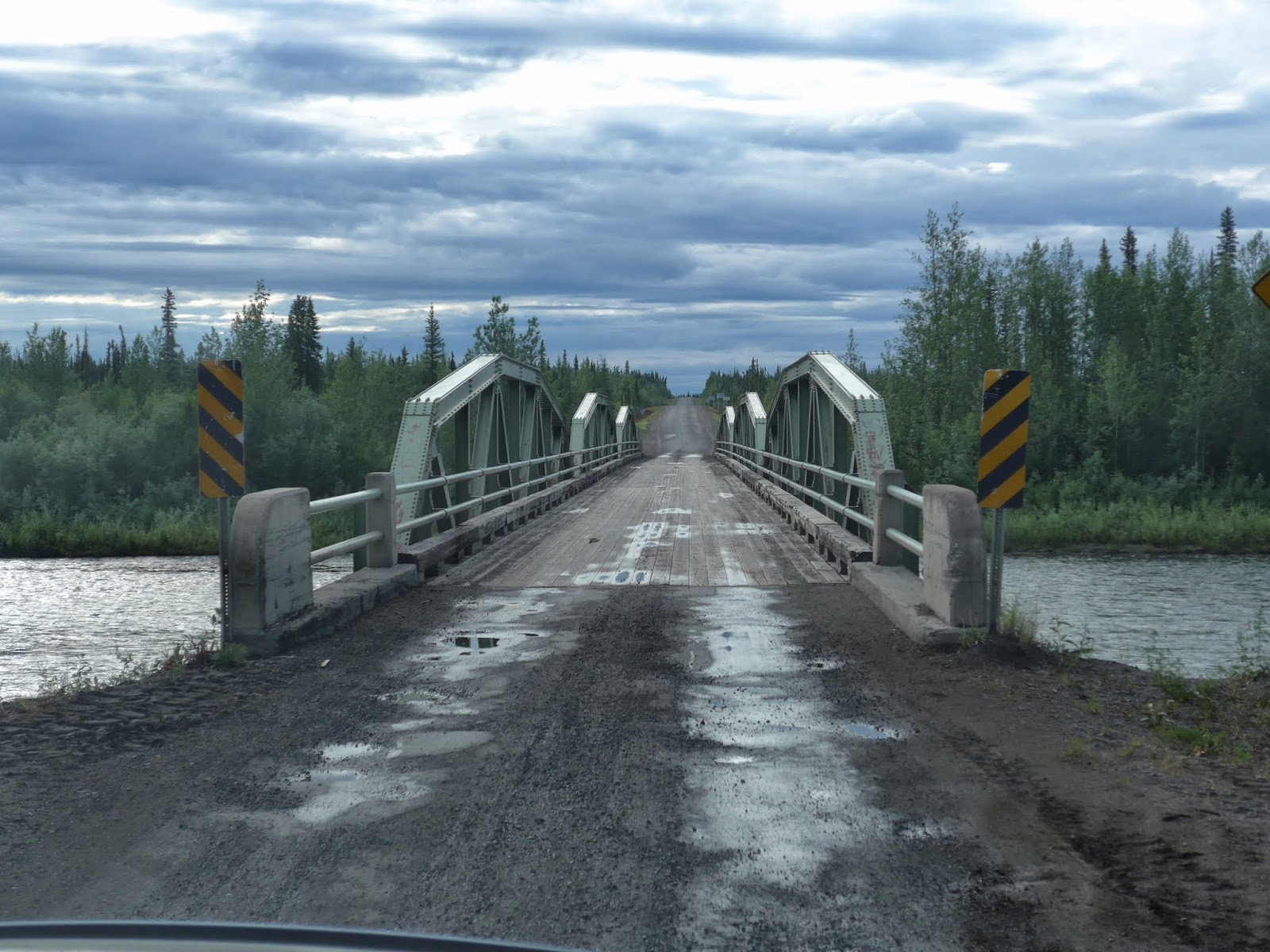 Beginning of the Dempster Highway.