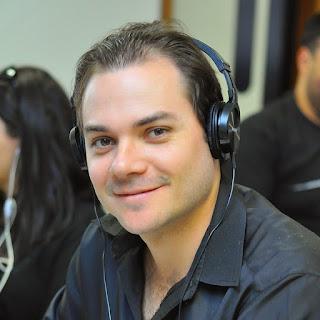 Foto do jornalista Paulo Augusto Sebin - analista de SEO de Londrina