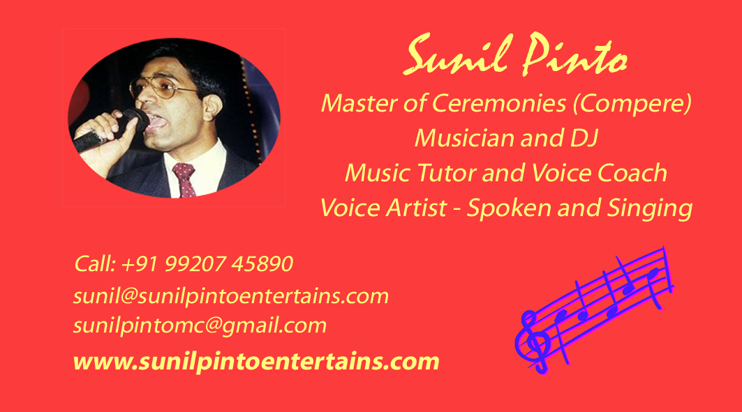Sunil Pinto Entertains