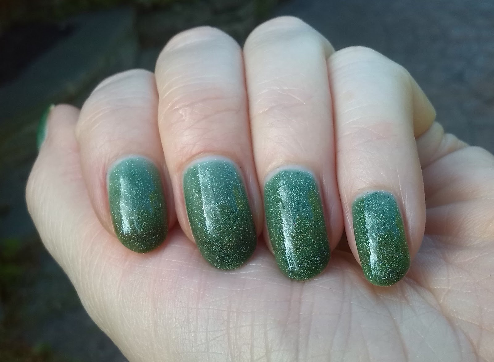 Black Cat Lacquer Evergreen