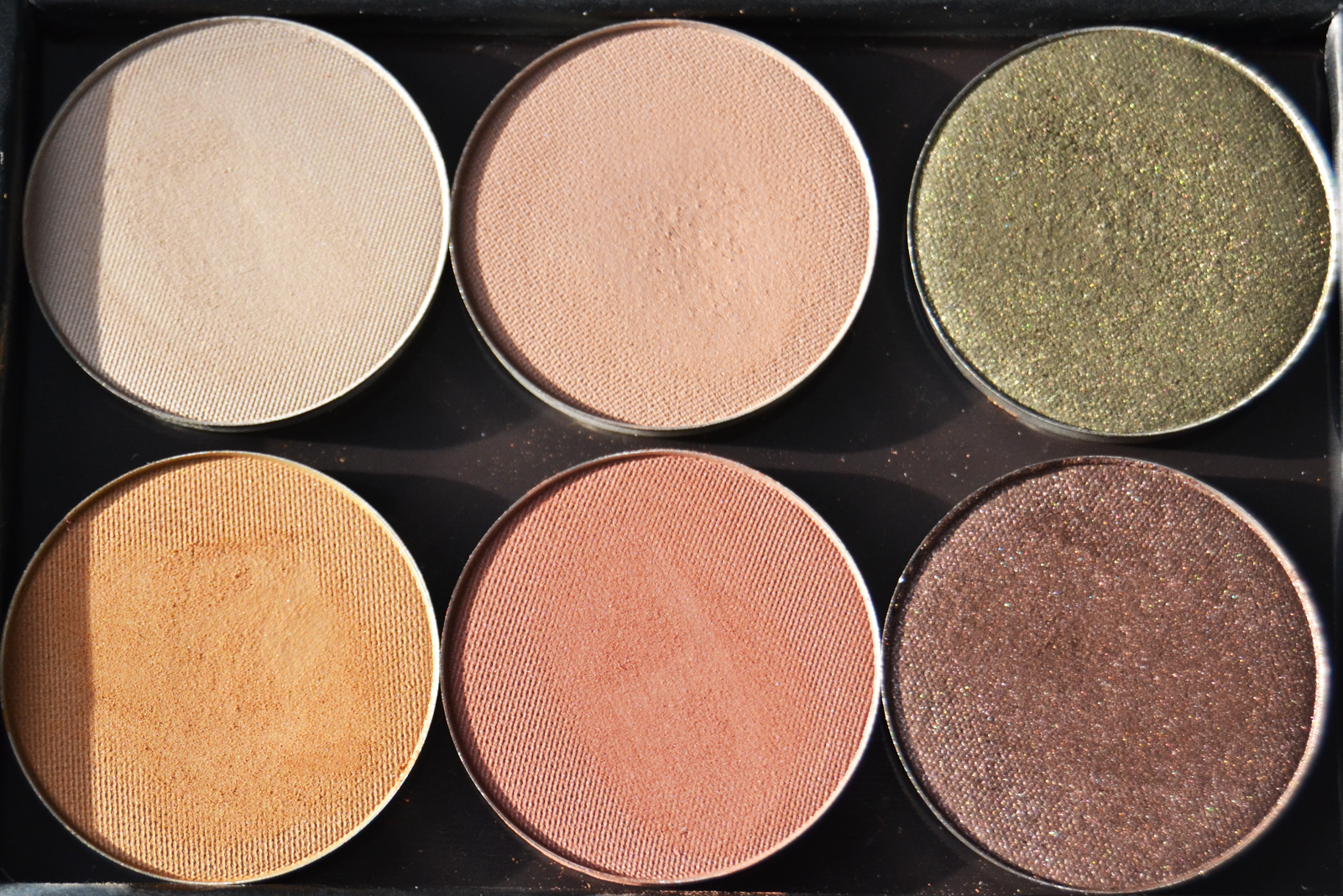 nabla, sombras, swatches