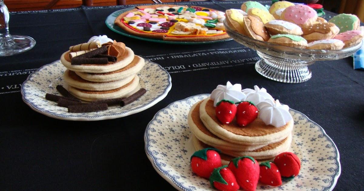 Agariguyi complementos de fieltro tortitas de fresa for Complementos de decoracion
