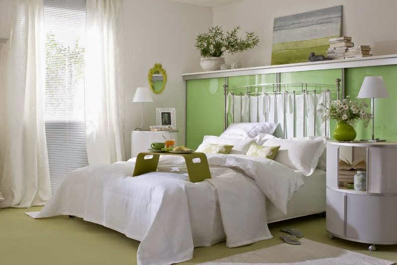 Colores relajantes para pintar dormitorio dormitorios - Pintar pared dormitorio ...