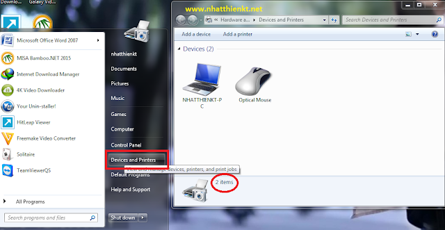 Hướng dẫn Clear và Reset Print Spooler Queue trong Vista, Windows 7, Windows 8 và Windows 10