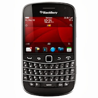 BlackBerry Smartfren 9930 (No Camera) - Hitam-Abu-abu