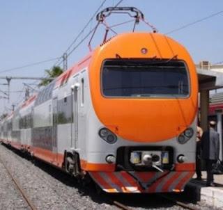 Tren ONCF Tánger Marruecos