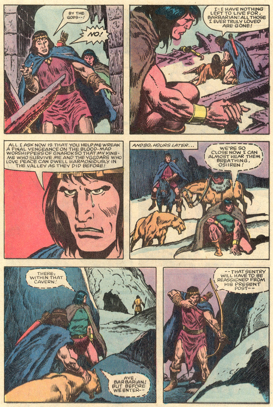 Conan the Barbarian (1970) Issue #151 #163 - English 18