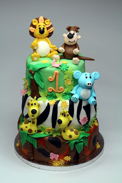Raa Raa The Noisy Lion Birthday Cake London