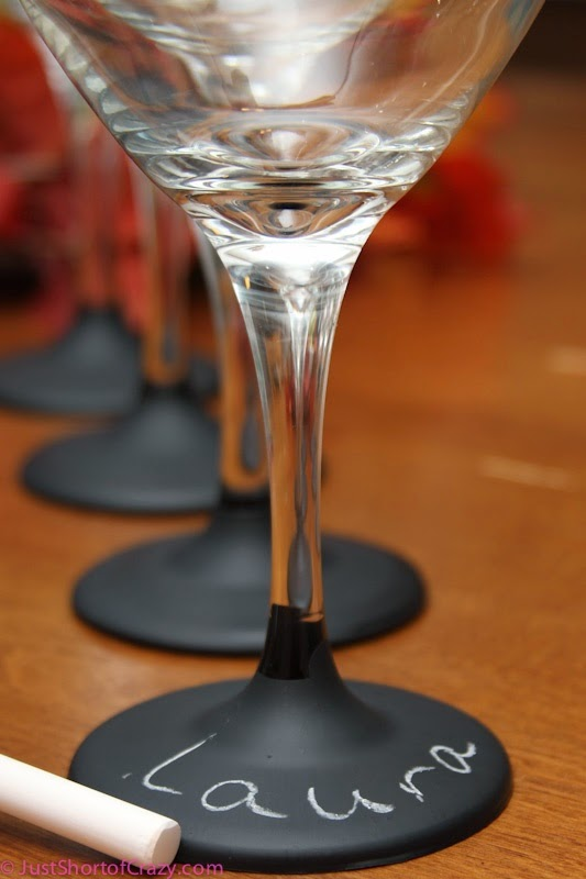 http://www.justshortofcrazy.com/2011/09/chalkboard-wine-glasses-tutorial/