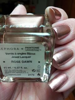 Pantone Universe + Sephora Rose Dawn