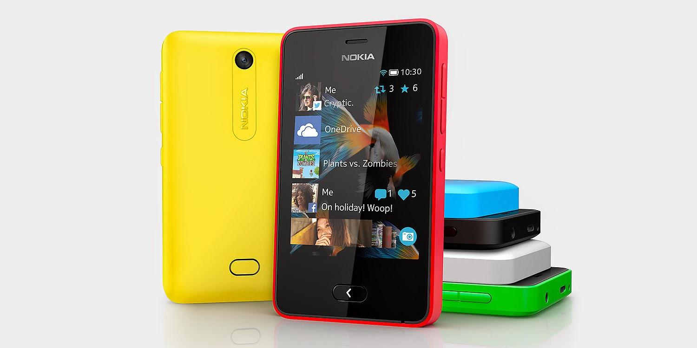 Update Nokia Asha