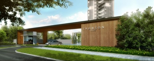 Thomson Three - Condo 's Entrance