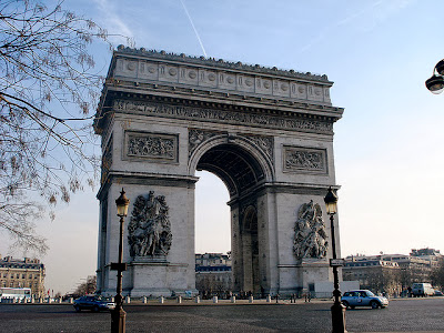 L'arch D' Triomphe perancis