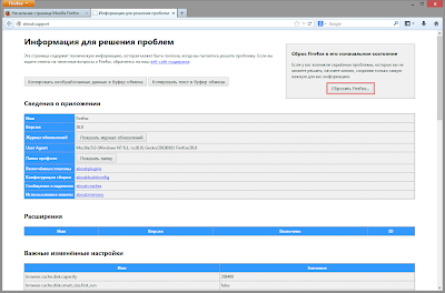 Как отключить открытие предыдущей сессии при запуске Firefox