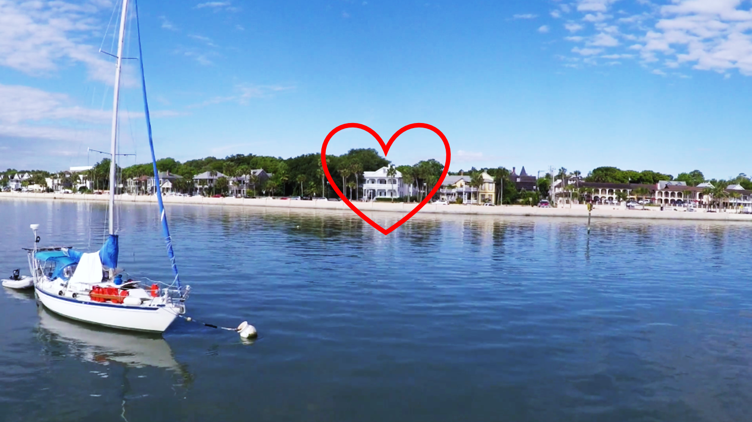 public pool and a romantic rendezvous in st augustine | bayfront