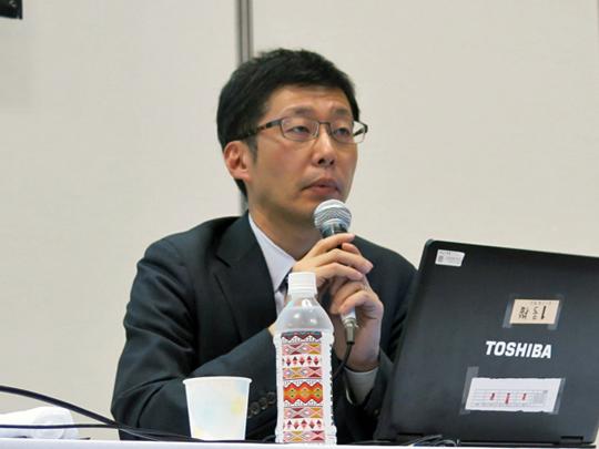 淺野隆夫氏(札幌市立中央図書館情報化推進担当係長)
