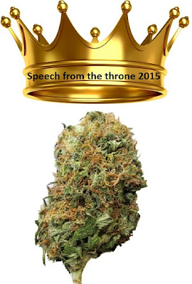 Speech from the throne 2015