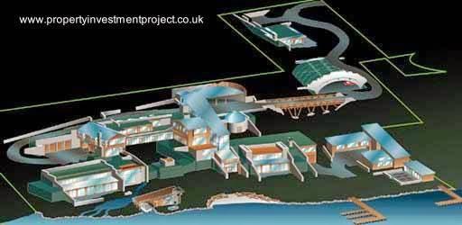 Propiedad de Bill Gates en Seattle renderizado proyecto