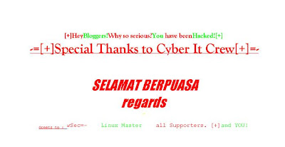blog kena hack