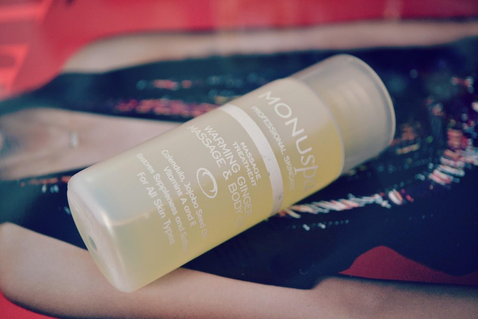 monuspa massage oil