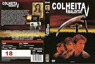 Colheita Maldita 5 DVD Capa