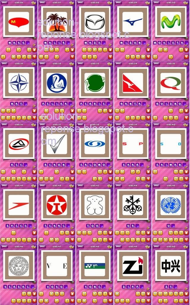 Solutions deviner logo what's the brand Album 6