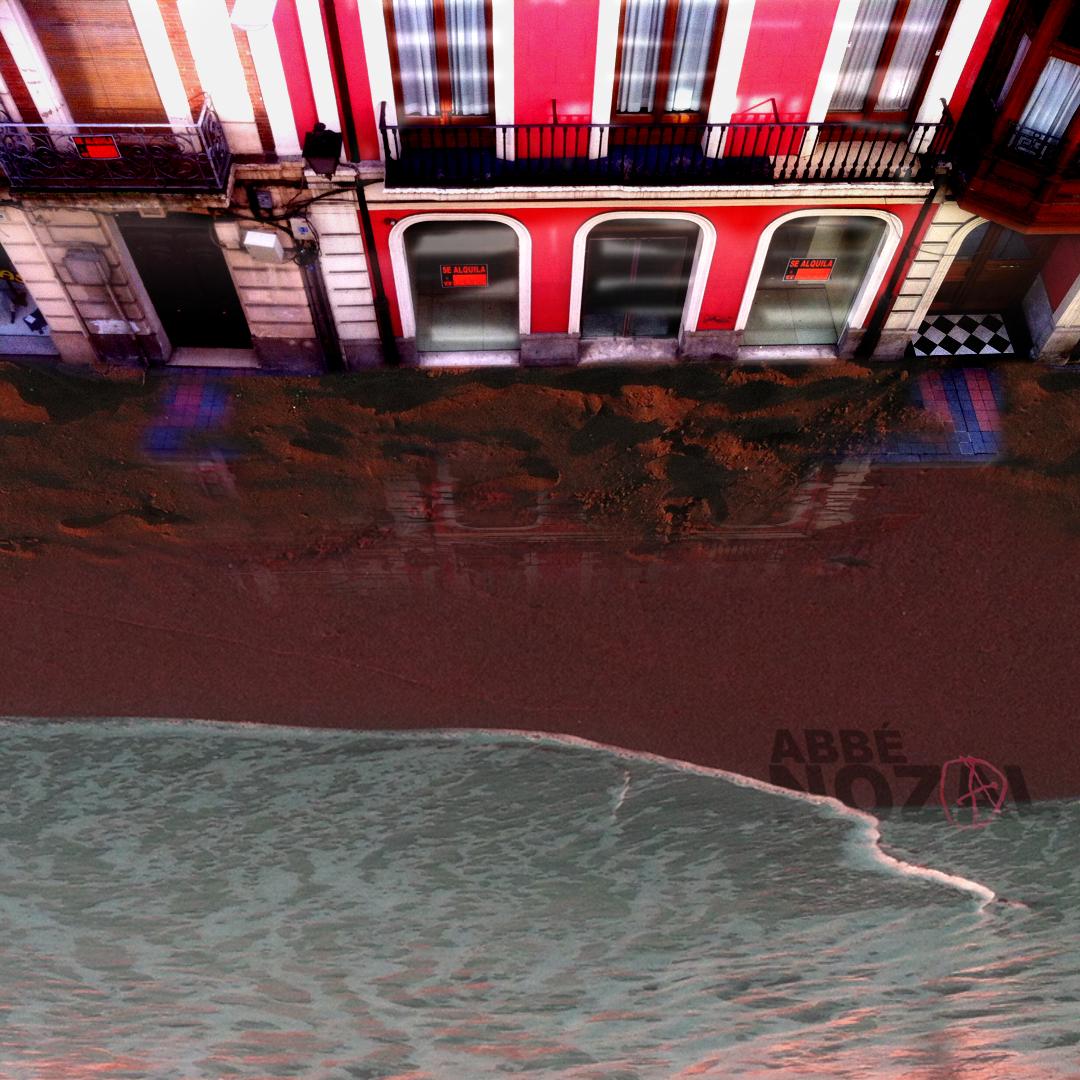 bajo los adoquines, la playa, 2014 Abbé Nozal