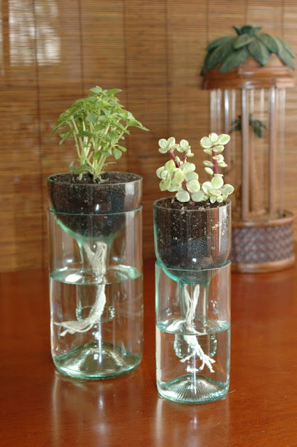 vasos com flores dentro para uma decoração de mesa ou de parede