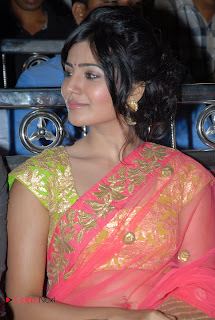 Samantha Latest Pictures in Designer Saree at Jabardasth Audio Launch  0012