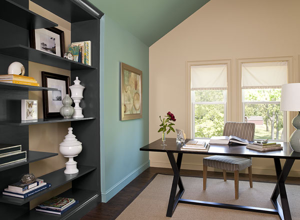 Home Office Paint Color Schemes