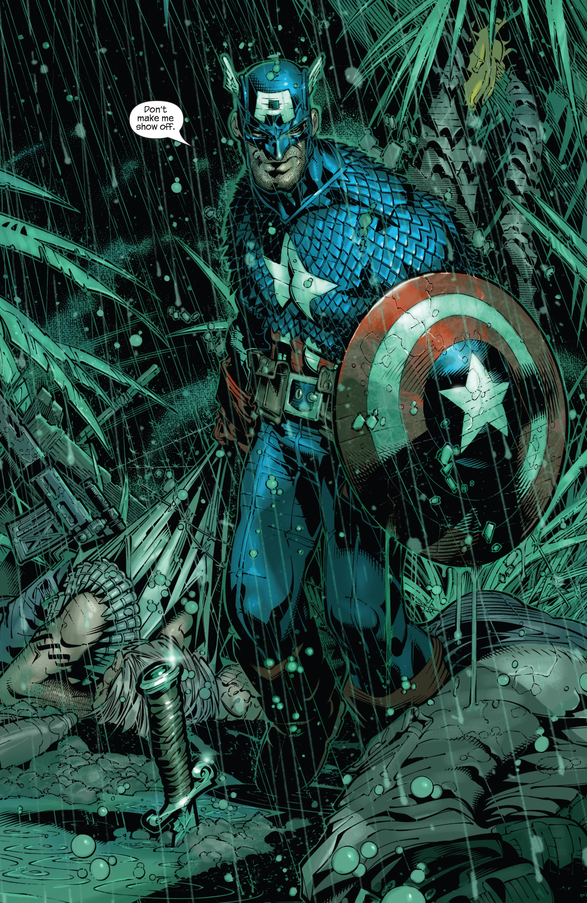 Captain America (2002) Issue #21 #22 - English 3