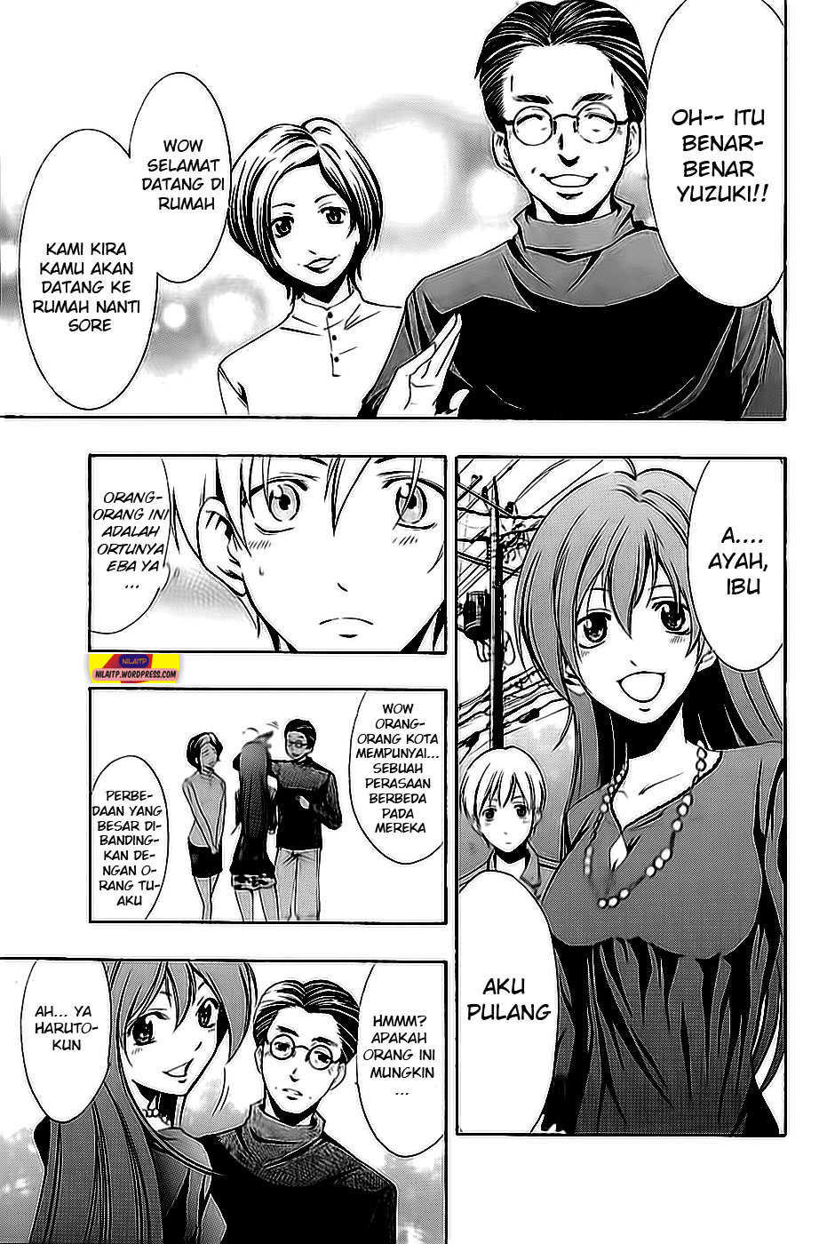 Komik kimi no iru machi 26 page 9