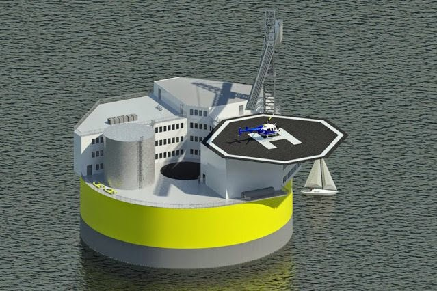 floating offshore nuclear plant