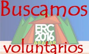 ¡Hazte voluntario para el ERC 2016!