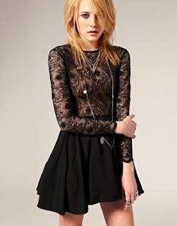 Black Skater Dresses